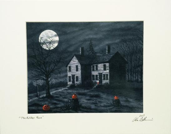 halloween prints 11x14 - Halloween Prints